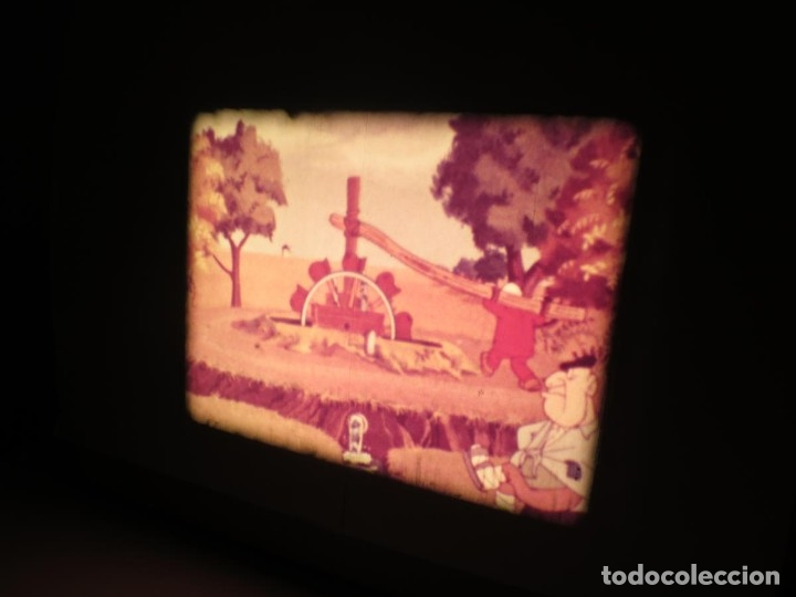 Cine: MORTADELO Y FILEMÓN(ENGAÑO A FILEMÓN )CORTO DIBUJOS ANIMADOS-SUPER 8 MM VINTAGE FILM - Foto 25 - 176333017