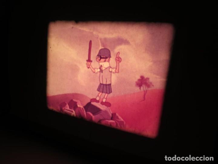 Cine: MORTADELO Y FILEMÓN(ENGAÑO A FILEMÓN )CORTO DIBUJOS ANIMADOS-SUPER 8 MM VINTAGE FILM - Foto 31 - 176333017