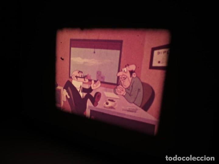Cine: MORTADELO Y FILEMÓN(ENGAÑO A FILEMÓN )CORTO DIBUJOS ANIMADOS-SUPER 8 MM VINTAGE FILM - Foto 67 - 176333017