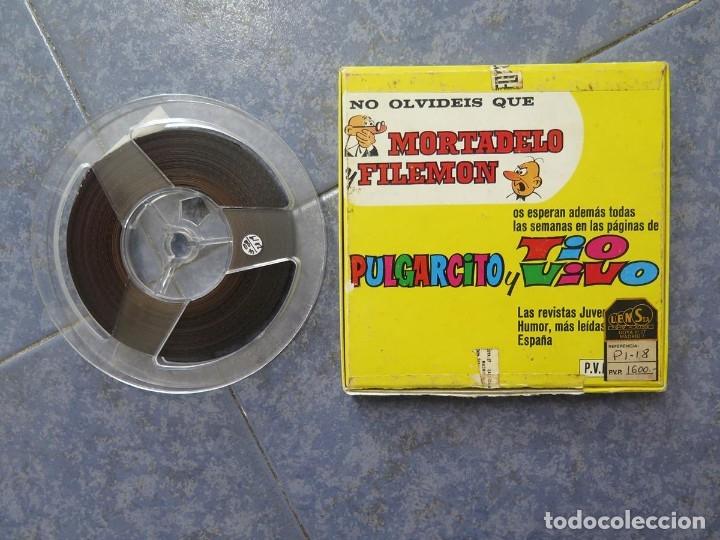 Cine: MORTADELO Y FILEMÓN(ENGAÑO A FILEMÓN )CORTO DIBUJOS ANIMADOS-SUPER 8 MM VINTAGE FILM - Foto 82 - 176333017
