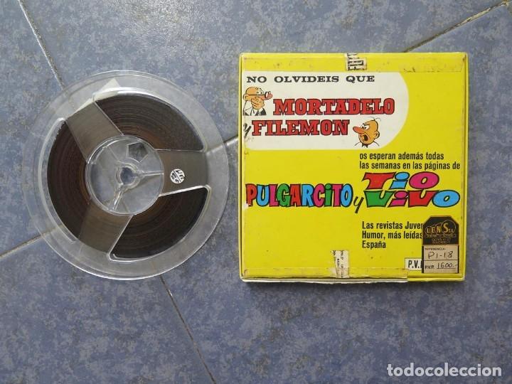 Cine: MORTADELO Y FILEMÓN(ENGAÑO A FILEMÓN )CORTO DIBUJOS ANIMADOS-SUPER 8 MM VINTAGE FILM - Foto 83 - 176333017