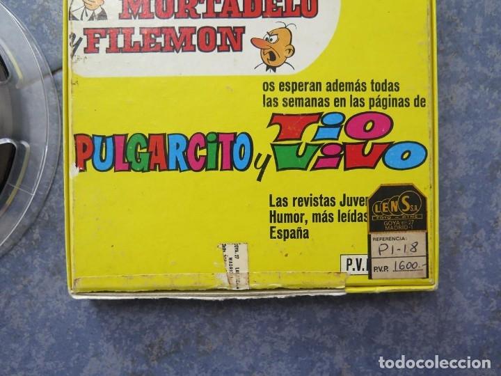 Cine: MORTADELO Y FILEMÓN(ENGAÑO A FILEMÓN )CORTO DIBUJOS ANIMADOS-SUPER 8 MM VINTAGE FILM - Foto 84 - 176333017