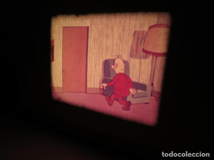 Cine: MORTADELO Y FILEMÓN(ENGAÑO A FILEMÓN )CORTO DIBUJOS ANIMADOS-SUPER 8 MM VINTAGE FILM - Foto 93 - 176333017