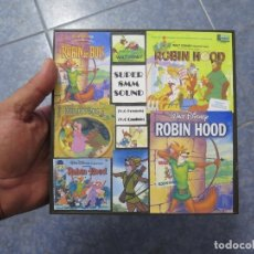 Cine: ROBIN HOOD -DOS CORTOS CLÁSICOS- WALT DISNEY, SUPER 8 MM VINTAGE FILM (V.O). Lote 176956080