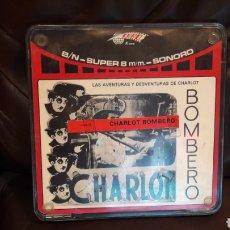 Cine: 2 PELICULAS SUPER 8 LAS AVENTURAS Y DESVENTURAS DE CHARLOT BOMBERO 1 ROYO EURO FILMS Y MALEANTE. Lote 177527645
