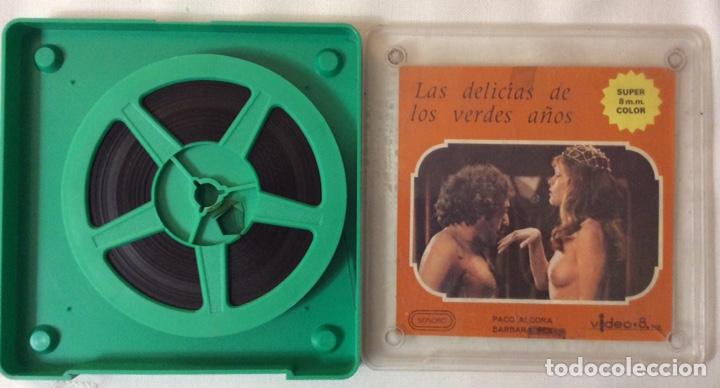 Cine: PELÍCULA CORTOMETRAJE 8MM, Las delicias de los verdes años - Foto 2 - 178245017