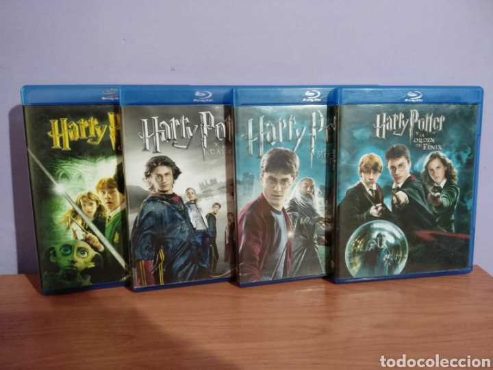 HARRY POTTER (BLU RAY) (Cine - Películas - Super 8 mm)