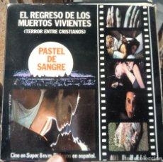 Cine: EL REGRESO DE LOS MUERTOS VIVIENTES FRANCESC BELLMUNT 1971 SUPER 8 MM. Lote 178857202