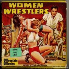 Cine: SUPER 8 ++ WOMEN WRESTLERS +DC+ 60 METROS MUDA. Lote 179049102