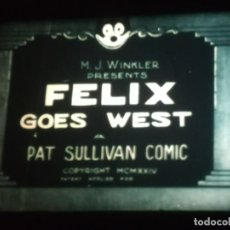 Cine: SUPER 8 ++ FELIX GO WEST ++ 60 METROS. MUDA. IMPECABLE. 1924. Lote 179083835