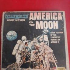 Cine: AMÉRICA ON THE MOON NASA APOLO 11 CASTLE FIMS SÚPER 8. Lote 179399740