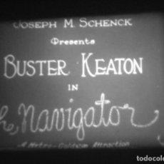 Cine: SUPER 8 ++ EL NAVEGANTE ++ 3X180 METROS. CLÁSICO CON BUSTER KEATON. MUSICAL CON SUBS INGLES.. Lote 179559788