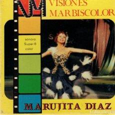 Cine: MARUJITA DIAZ CANTA - MADRE COMPRAME UN NEGRO -- EN PELICULA SUPER 8 -DEL FILM - Y DESPUES DEL CUPLE. Lote 180010666