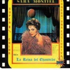 Cinéma: SARITA MONTIEL - LA REINA DEL CHANTECLER - PELICULA COMPLETA EN SUPER 8 - EN 5 CAJAS INDIVIDUALES. Lote 180099530