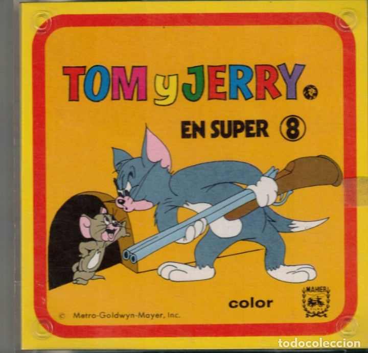 Cine: TOM Y JERRY - PELICULA EN SUPER 8 - Foto 1 - 180100227