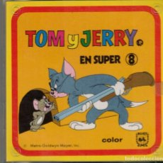 Cine: TOM Y JERRY - PELICULA EN SUPER 8. Lote 180100227