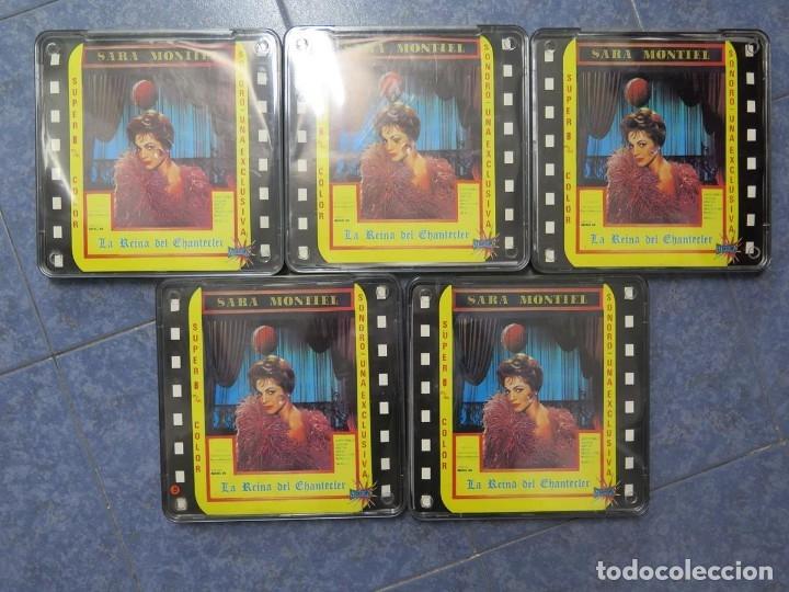 LA REINA DEL CHANTECLER-LARGOMETRAJE PELÍCULA- SUPER 8 MM- 5 X 180 MTS. RETRO-VINTAGE FILM (Cine - Películas - Super 8 mm)