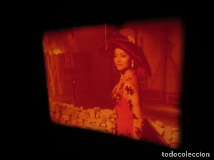 Cine: LA REINA DEL CHANTECLER-LARGOMETRAJE PELÍCULA- SUPER 8 MM- 5 x 180 MTS. RETRO-VINTAGE FILM - Foto 3 - 180168615