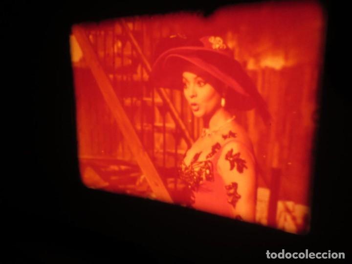 Cine: LA REINA DEL CHANTECLER-LARGOMETRAJE PELÍCULA- SUPER 8 MM- 5 x 180 MTS. RETRO-VINTAGE FILM - Foto 4 - 180168615