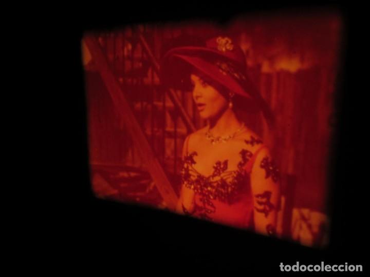 Cine: LA REINA DEL CHANTECLER-LARGOMETRAJE PELÍCULA- SUPER 8 MM- 5 x 180 MTS. RETRO-VINTAGE FILM - Foto 5 - 180168615