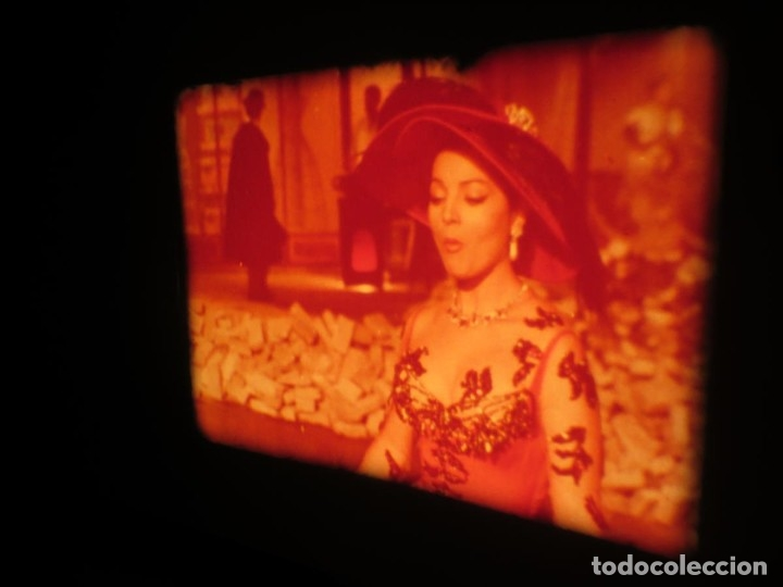 Cine: LA REINA DEL CHANTECLER-LARGOMETRAJE PELÍCULA- SUPER 8 MM- 5 x 180 MTS. RETRO-VINTAGE FILM - Foto 6 - 180168615
