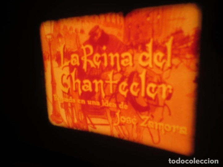 Cine: LA REINA DEL CHANTECLER-LARGOMETRAJE PELÍCULA- SUPER 8 MM- 5 x 180 MTS. RETRO-VINTAGE FILM - Foto 9 - 180168615