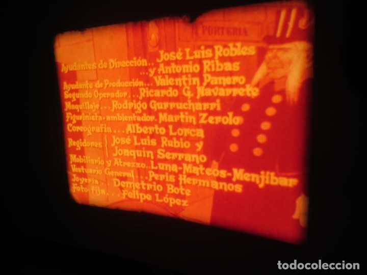 Cine: LA REINA DEL CHANTECLER-LARGOMETRAJE PELÍCULA- SUPER 8 MM- 5 x 180 MTS. RETRO-VINTAGE FILM - Foto 17 - 180168615