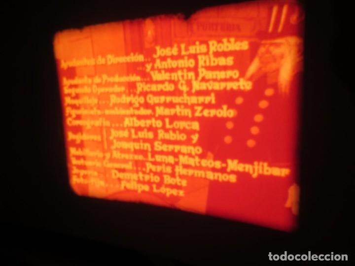 Cine: LA REINA DEL CHANTECLER-LARGOMETRAJE PELÍCULA- SUPER 8 MM- 5 x 180 MTS. RETRO-VINTAGE FILM - Foto 18 - 180168615