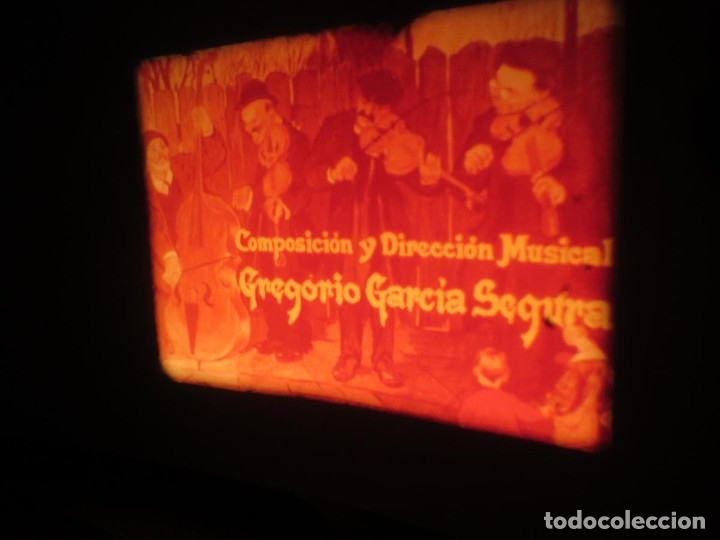 Cine: LA REINA DEL CHANTECLER-LARGOMETRAJE PELÍCULA- SUPER 8 MM- 5 x 180 MTS. RETRO-VINTAGE FILM - Foto 21 - 180168615