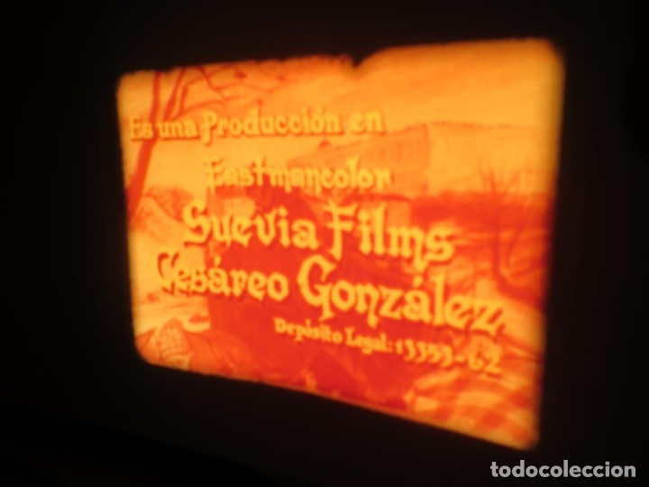 Cine: LA REINA DEL CHANTECLER-LARGOMETRAJE PELÍCULA- SUPER 8 MM- 5 x 180 MTS. RETRO-VINTAGE FILM - Foto 28 - 180168615