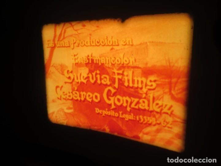 Cine: LA REINA DEL CHANTECLER-LARGOMETRAJE PELÍCULA- SUPER 8 MM- 5 x 180 MTS. RETRO-VINTAGE FILM - Foto 29 - 180168615