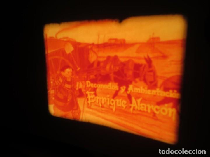 Cine: LA REINA DEL CHANTECLER-LARGOMETRAJE PELÍCULA- SUPER 8 MM- 5 x 180 MTS. RETRO-VINTAGE FILM - Foto 30 - 180168615