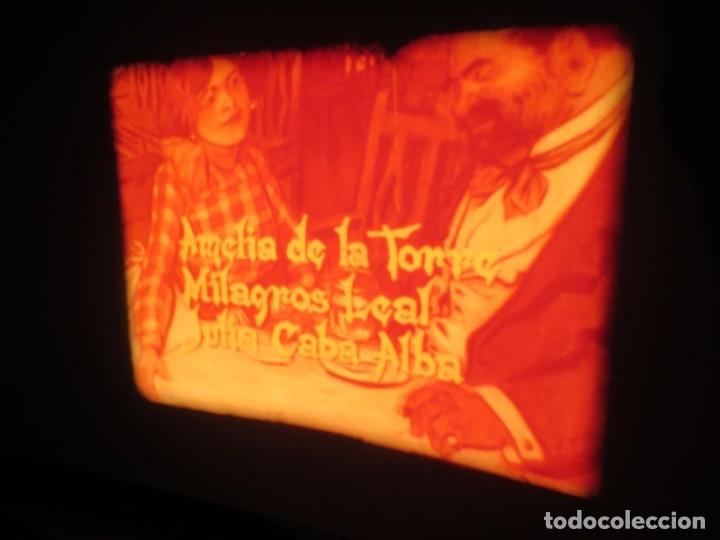 Cine: LA REINA DEL CHANTECLER-LARGOMETRAJE PELÍCULA- SUPER 8 MM- 5 x 180 MTS. RETRO-VINTAGE FILM - Foto 33 - 180168615