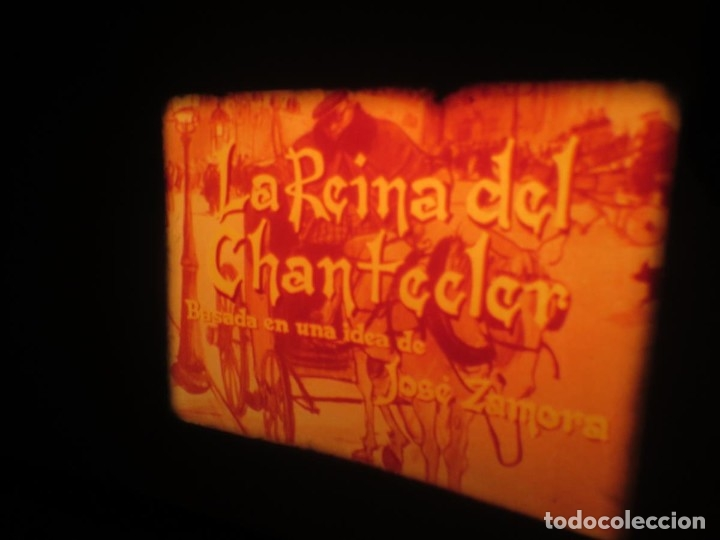 Cine: LA REINA DEL CHANTECLER-LARGOMETRAJE PELÍCULA- SUPER 8 MM- 5 x 180 MTS. RETRO-VINTAGE FILM - Foto 36 - 180168615