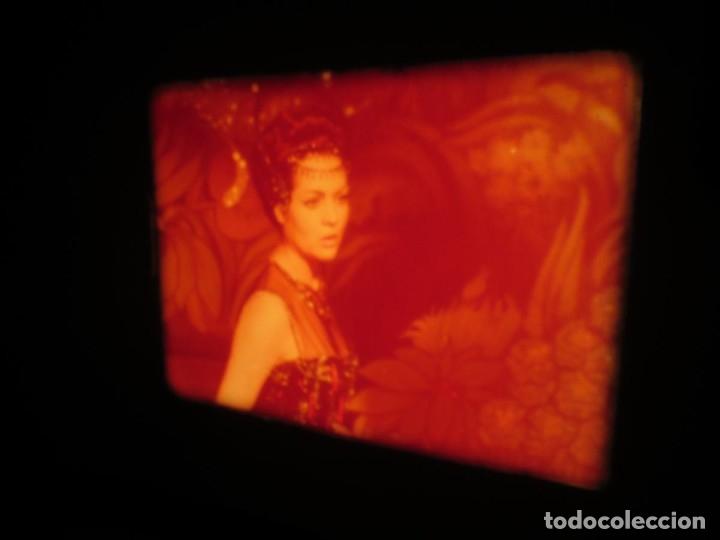 Cine: LA REINA DEL CHANTECLER-LARGOMETRAJE PELÍCULA- SUPER 8 MM- 5 x 180 MTS. RETRO-VINTAGE FILM - Foto 47 - 180168615
