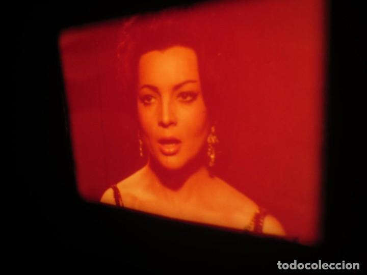 Cine: LA REINA DEL CHANTECLER-LARGOMETRAJE PELÍCULA- SUPER 8 MM- 5 x 180 MTS. RETRO-VINTAGE FILM - Foto 50 - 180168615