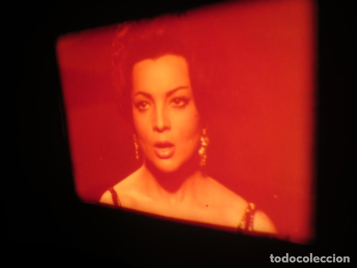 Cine: LA REINA DEL CHANTECLER-LARGOMETRAJE PELÍCULA- SUPER 8 MM- 5 x 180 MTS. RETRO-VINTAGE FILM - Foto 51 - 180168615