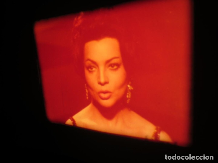 Cine: LA REINA DEL CHANTECLER-LARGOMETRAJE PELÍCULA- SUPER 8 MM- 5 x 180 MTS. RETRO-VINTAGE FILM - Foto 52 - 180168615
