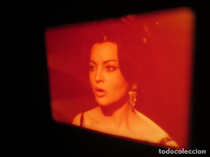 Cine: LA REINA DEL CHANTECLER-LARGOMETRAJE PELÍCULA- SUPER 8 MM- 5 x 180 MTS. RETRO-VINTAGE FILM - Foto 57 - 180168615