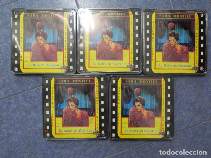 Cine: LA REINA DEL CHANTECLER-LARGOMETRAJE PELÍCULA- SUPER 8 MM- 5 x 180 MTS. RETRO-VINTAGE FILM - Foto 62 - 180168615
