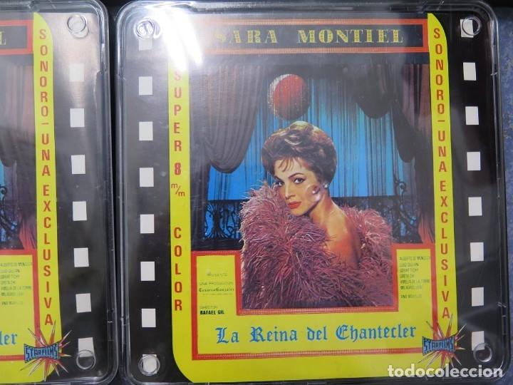Cine: LA REINA DEL CHANTECLER-LARGOMETRAJE PELÍCULA- SUPER 8 MM- 5 x 180 MTS. RETRO-VINTAGE FILM - Foto 63 - 180168615
