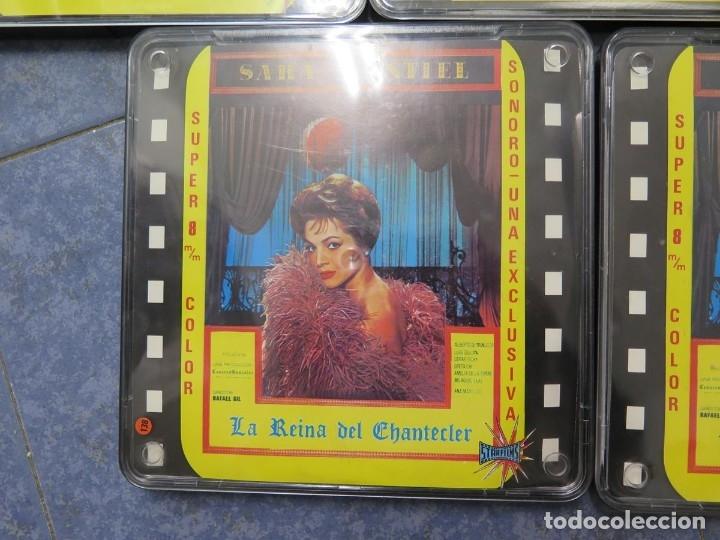 Cine: LA REINA DEL CHANTECLER-LARGOMETRAJE PELÍCULA- SUPER 8 MM- 5 x 180 MTS. RETRO-VINTAGE FILM - Foto 64 - 180168615