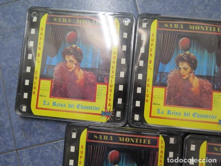 Cine: LA REINA DEL CHANTECLER-LARGOMETRAJE PELÍCULA- SUPER 8 MM- 5 x 180 MTS. RETRO-VINTAGE FILM - Foto 65 - 180168615