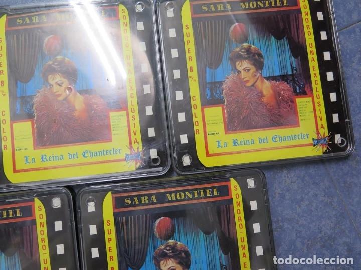 Cine: LA REINA DEL CHANTECLER-LARGOMETRAJE PELÍCULA- SUPER 8 MM- 5 x 180 MTS. RETRO-VINTAGE FILM - Foto 66 - 180168615