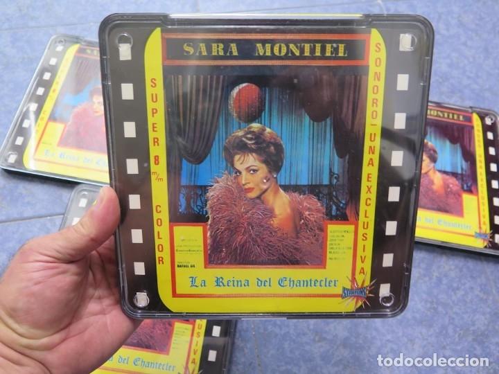 Cine: LA REINA DEL CHANTECLER-LARGOMETRAJE PELÍCULA- SUPER 8 MM- 5 x 180 MTS. RETRO-VINTAGE FILM - Foto 67 - 180168615