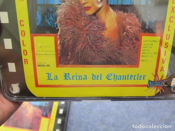 Cine: LA REINA DEL CHANTECLER-LARGOMETRAJE PELÍCULA- SUPER 8 MM- 5 x 180 MTS. RETRO-VINTAGE FILM - Foto 68 - 180168615