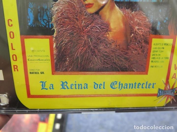 Cine: LA REINA DEL CHANTECLER-LARGOMETRAJE PELÍCULA- SUPER 8 MM- 5 x 180 MTS. RETRO-VINTAGE FILM - Foto 69 - 180168615