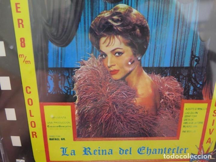 Cine: LA REINA DEL CHANTECLER-LARGOMETRAJE PELÍCULA- SUPER 8 MM- 5 x 180 MTS. RETRO-VINTAGE FILM - Foto 70 - 180168615