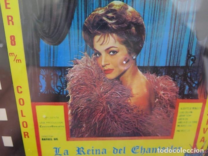 Cine: LA REINA DEL CHANTECLER-LARGOMETRAJE PELÍCULA- SUPER 8 MM- 5 x 180 MTS. RETRO-VINTAGE FILM - Foto 71 - 180168615