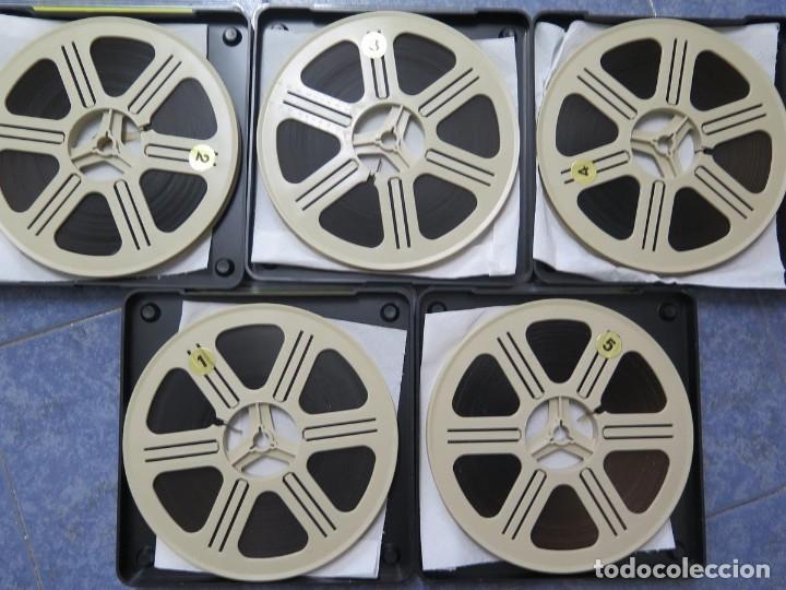 Cine: LA REINA DEL CHANTECLER-LARGOMETRAJE PELÍCULA- SUPER 8 MM- 5 x 180 MTS. RETRO-VINTAGE FILM - Foto 72 - 180168615